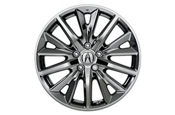 18-In Chrome-Look Alloy Wheels
