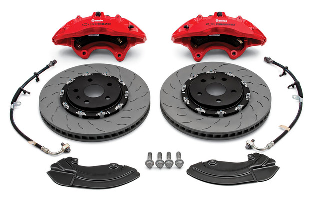 Brembo(R) Performance Front Brake Package (Six-Piston Calipers, Camaro Ls/Left And Ss)