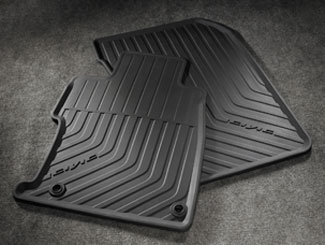 All-Season Floor Mats, Black - Coupe - Honda (08P13-TS8-110)