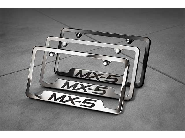 License Plate Frame, Mx-5 Logo
