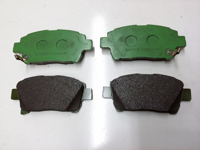 "FRONT BRAKE PADS....... Or Search For ""04465-AZ014-TM"" for Genuine Toyota Ceramic Economy Pads - Toyota (04465-47050)"