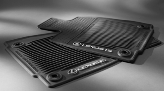 IS All-Weather Floor Mats - Rear Wheel Drive