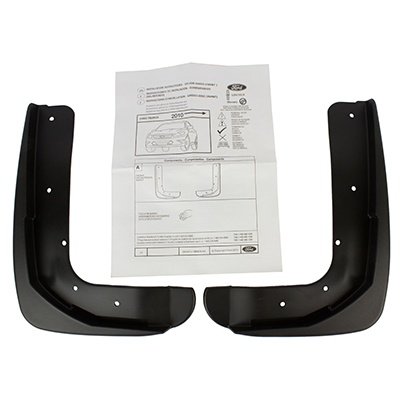 Splash Guards, Front Set - Ford (AG1Z-16A550-AA)