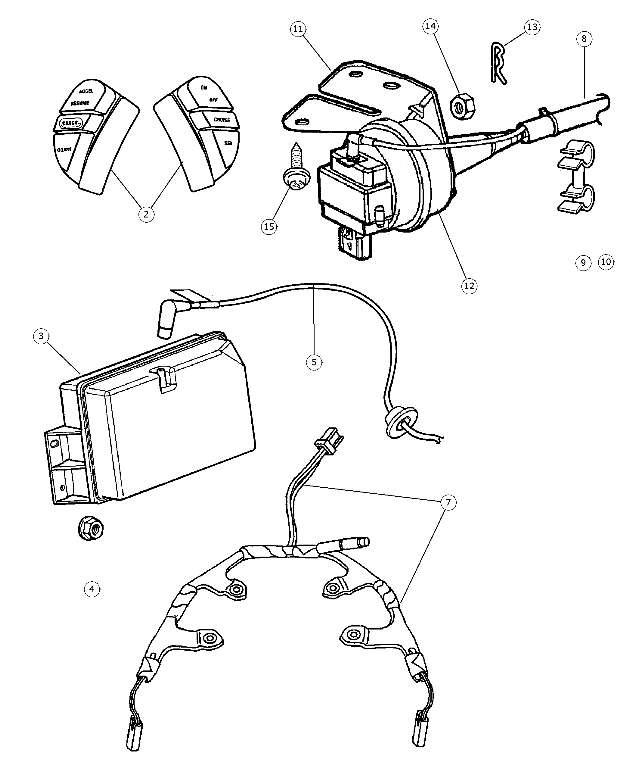 1993 2007 Mopar Speed Control Kit