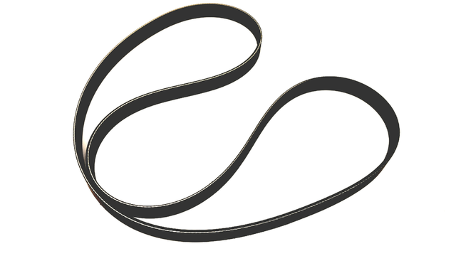 Serpentine Belt - Subaru (809221090)