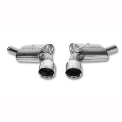 V8 (LS3) Exhaust Upgrade Kit, Round Tip