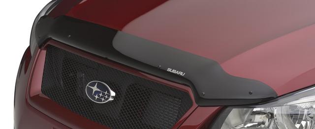 OEM 2012-2017 Subaru Hood Deflector Bug Shield Crosstrek Impreza NEW E231SFJ000