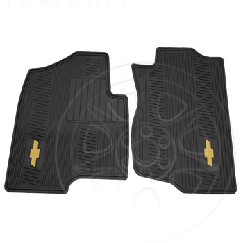 Floor Mats, All-Weather, Front - GM (12499639)