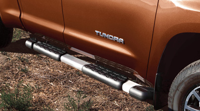 Running Board, Brushed Stainless - Toyota (PT212-3407D)