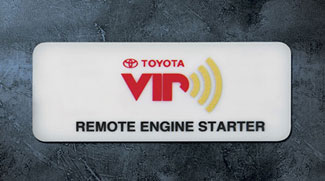 Remote Start - Toyota (PT398-0T093)