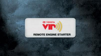 Remote Start - Toyota (PT398-0T110)