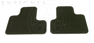 Floor Mats, Carpet, Rear - GM (15229703)