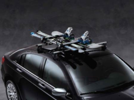 Thule Ski & Snowboard Carrier Rack Roof Mount