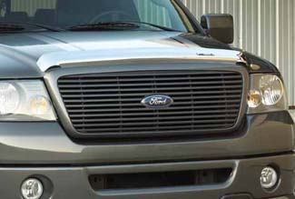 Grille, Billet Style, Dark Shadow Grey