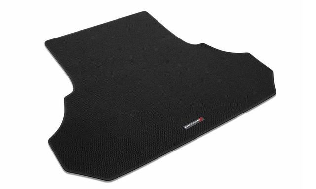 Carpet Cargo Area Mat With Dodge Logo