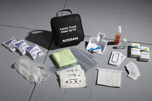 Family Travel Clean-Up Kit - Nissan (999M1-NX000)