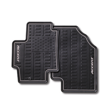 Floor Mats, Front Set All Weather