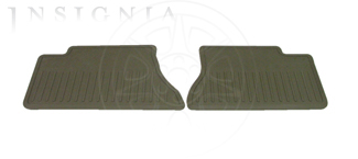 Floor Mats, All Weather, Rear - GM (89042099)