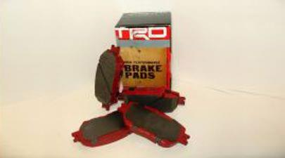 Trd, Performance Pads, Front