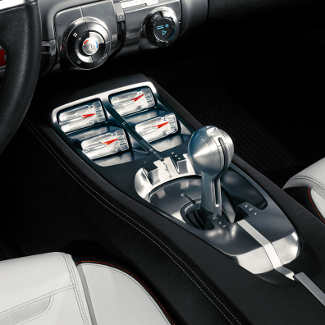 Auxiliary Gauge Pack V6 Manual Transmission