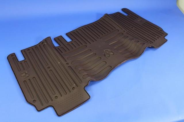 All-Weather Floor Mats, Black, Rear, Mega Cab