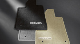 Sequoia Floor Mat 3rd Row 8 Passenger Brown