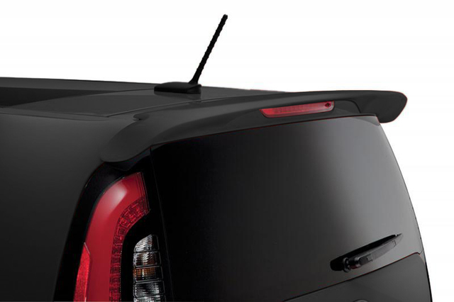 Rear Lip Spoiler - Shadow Black - Kia (B2F34-AB1009H)