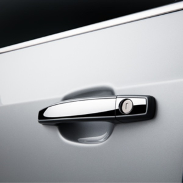 Door Handles, W/Chrome