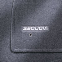 TOYOTA Genuine Accessories PT926-0C101-01 Dark Brown Carpet Floor Mat for Select Sequoia Models