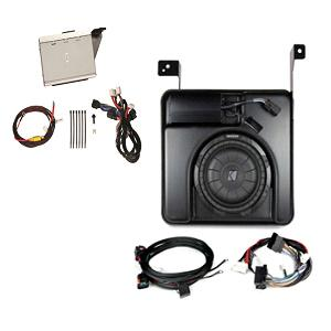 Audio Upgrade, 200/400W Sub-Woofer & Amp