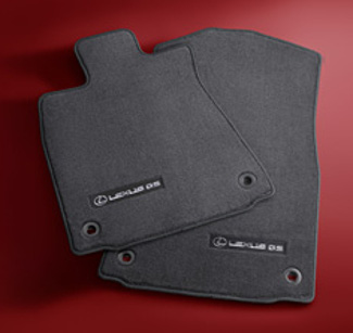 Carpet Floor Mats - Black 2WD