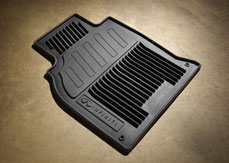 Floor Mats, All Weather, Gray
