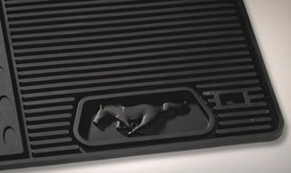 Floor Mats, All Weather (Dual Button) - Ford (CR3Z-6313300-AA)