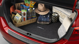 COROLLA CARPET TRUNK MAT - BLACK - 2014-2018 MODEL