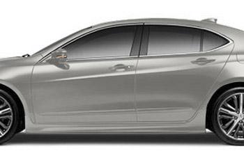 2015 2016 Acura Tlx Sedan Spoiler Side Under Body 08f04