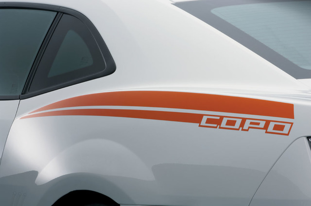 Copo Camaro 2012 Graphics Package Inferno Orange