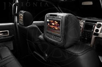DVD System, Leather Headrest