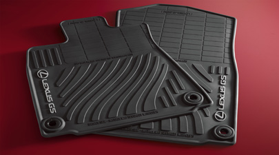 Floor Mats, All Weather, All wheel drive - Lexus (PT206-30121-20)