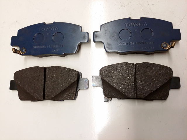 OEM (stock) Front Brake Pads - Toyota (0446552210)