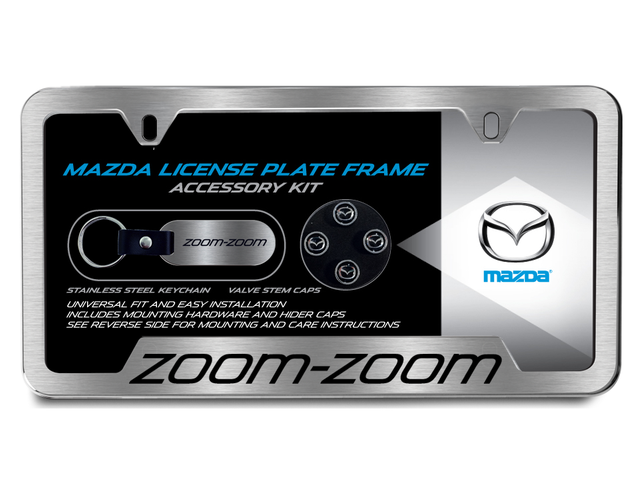 License Plate Frame, Gift Set, Zoom-Zoom