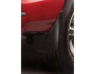 Splash Guards, Front W/O Fender Flares - GM (12495703)