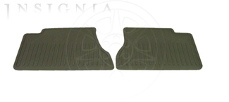 Floor Mats, All Weather, Rear - GM (88987087)