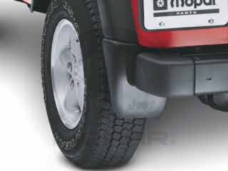 JEEP WRANGLER DELUXE MOLDED SPLASH GUARDS REAR 1997-2006