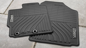 4PC All Weather Mats Yaris