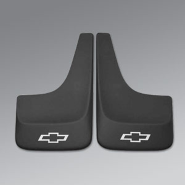 Splash Guards, Rear, Contour, Black