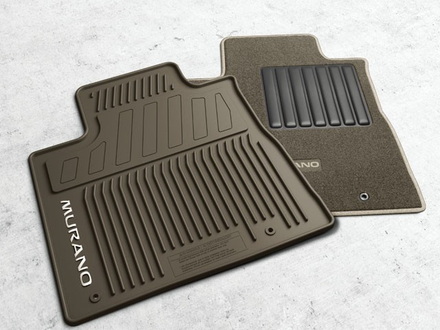 Carpeted Floor Mats - Chocolate