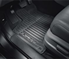 Floor Mats, All-Season (Low Wall)(Black)