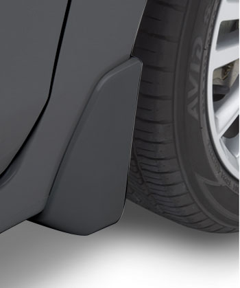 Splash Guards 4 Dr- Dark Gray Metallic
