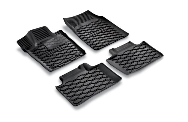 All Weather Floor Mats, Black