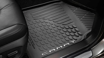 Floor Mats, All Weather, Set Of Four, Black